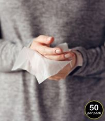 Result Biodegradable Disinfectant Wipes (pack of 50 wipes) RV003