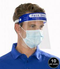 Result Face Splash Shields (Pack Of 10) RV008