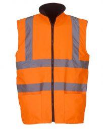 Hi-Vis Reversible Fleece Vest