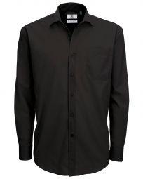 Men's Smart Long Sleeve Poplin Shirt