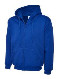 504 Adults Classic Full Zip Hooded Sweatshirt