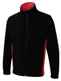 UC617 Two Tone Full Zip Fleece Jacket