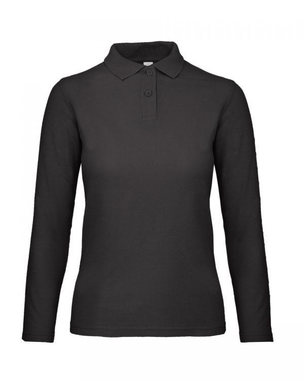 B&C ID.001 Womens Long Sleeve Polo